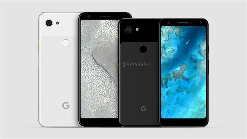 Pixel3 Lite・Pixel3 Lite XLのデザインと外観