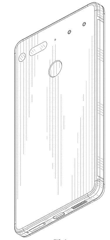 Essential Phone(PH-2)の背面