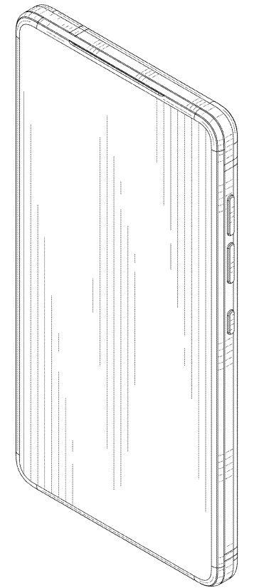 Essential Phone(PH-2)の前面