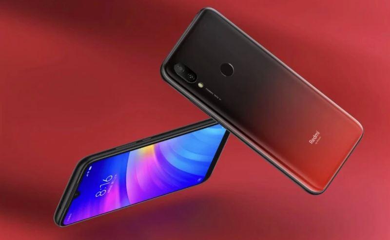 Xiaomi Redmi 7のデザイン
