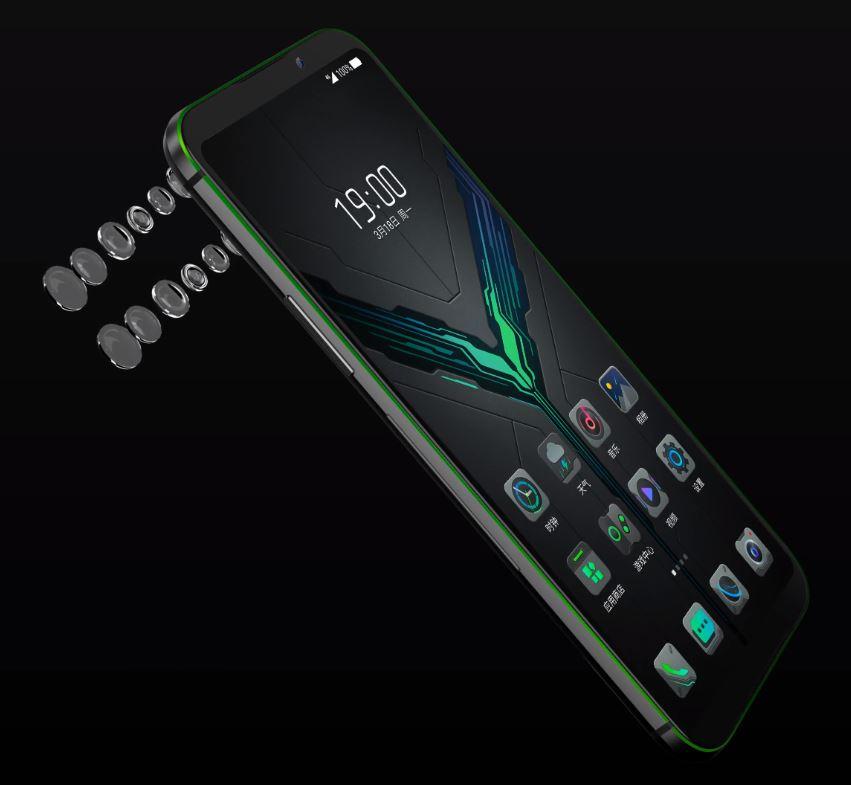 Xiaomi Black Shark 2のデザイン