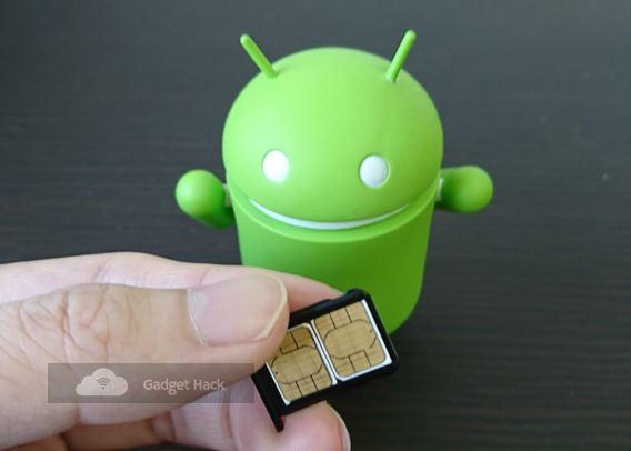 Xiaomi Mi A2でSIMのセット